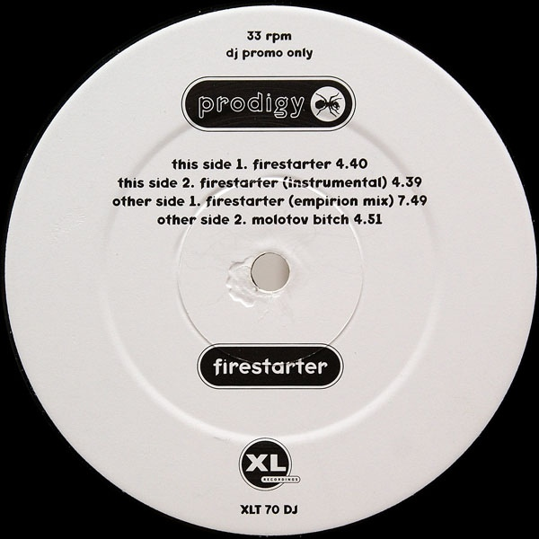 The Prodigy discography » promos » Firestarter - The Prodigy