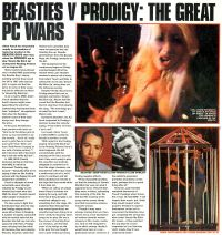 NME - September 12th 1998 Beasties V Prodigy: The Great PC Wars