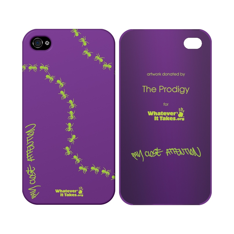 The Prodigy whateverittakes.org cell phone cover