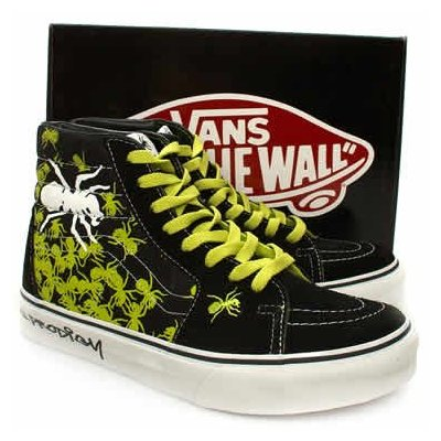 The Prodigy Vans Limited Edition 2007 - SK8 Hi-top