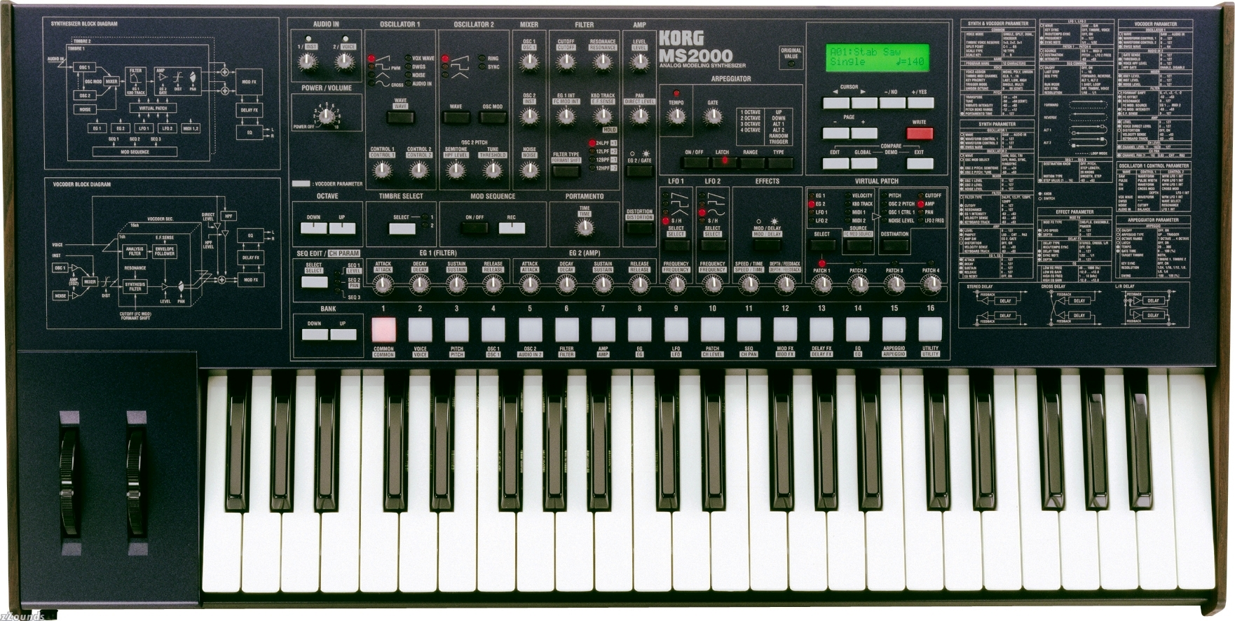 Korg MS-2000 Virtual Analog synth