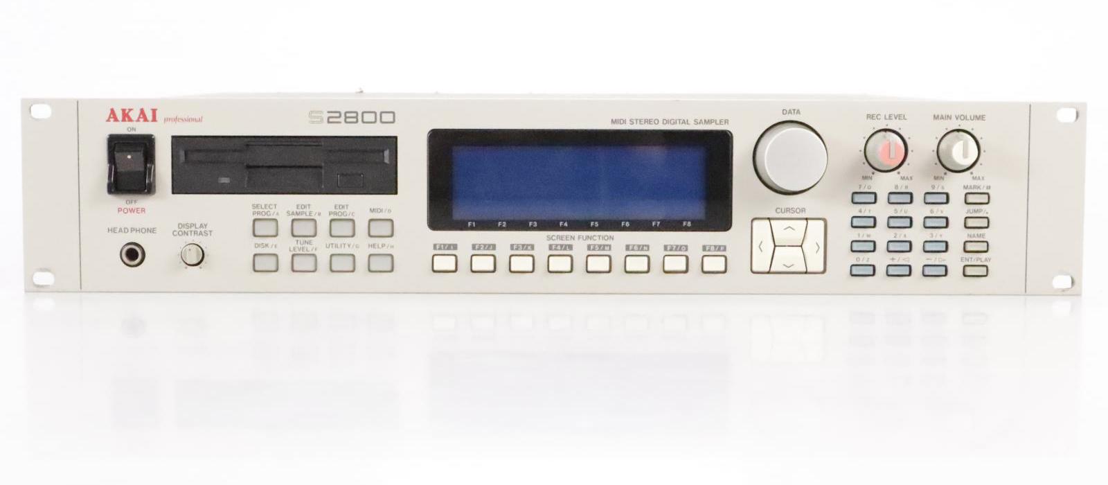 Akai S2800 midi stereo digital sampler