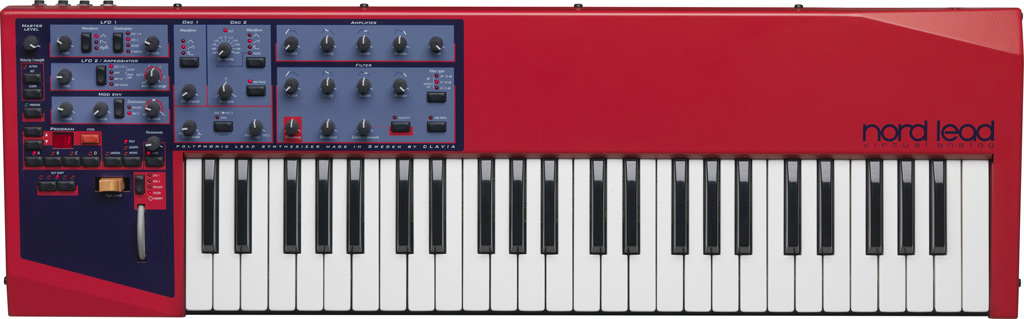 Clavia Nord Lead Virtual Analog Synthesizer