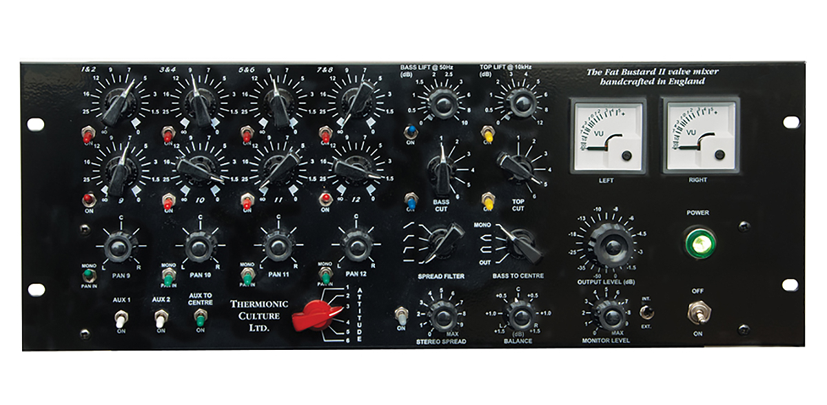 Thermionic Culture The Fat Bustard II 12 Channel Summing mixer