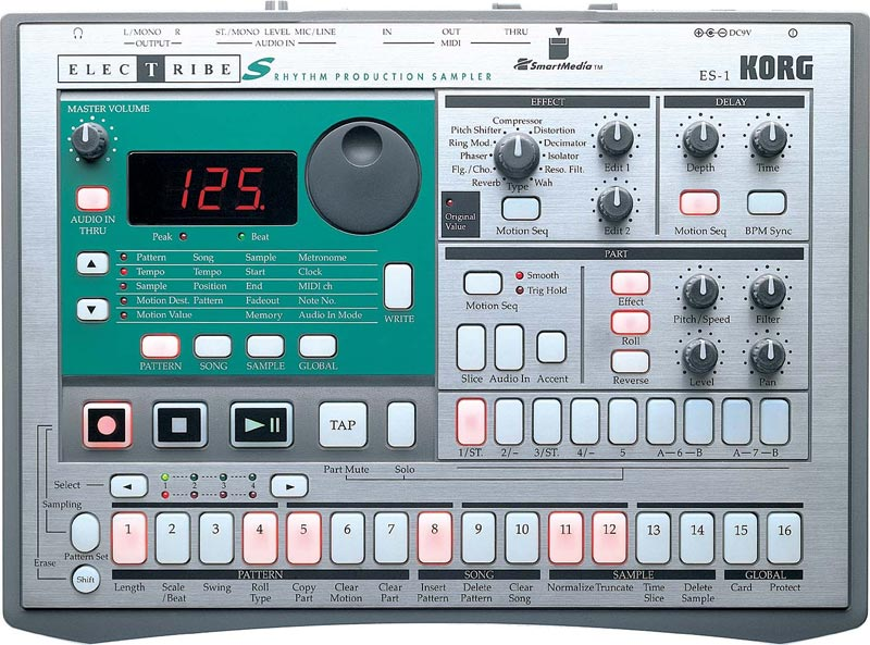 Korg ES-1 - Electribe S Rhythm Production Sampler