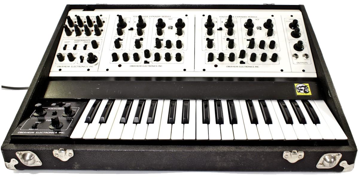 Oberheim Two Voice analog synthesizer