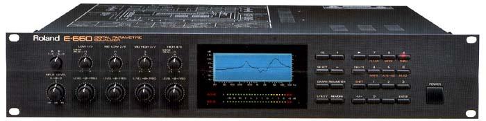 Roland E-660 Digital Stereo Parametric Mastering EQ