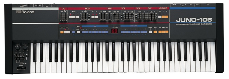 Roland Juno-106 synthesizer