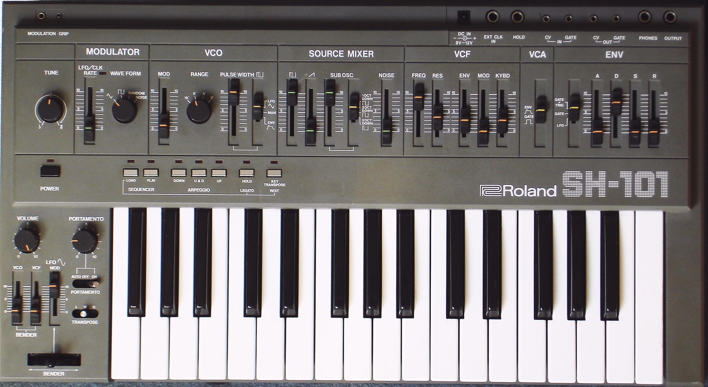 Roland SH-101 monosynth