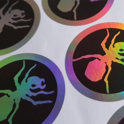 Buy The Prodigy Circle Ant hologram stickers!