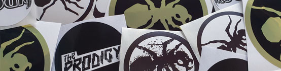 The Prodigy 21 pcs sticker set