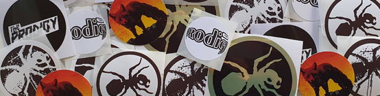 The Prodigy 24 pcs sticker set